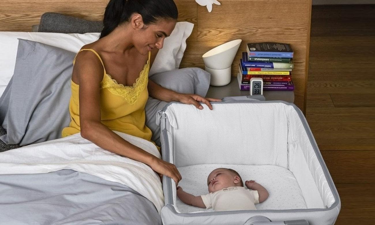 Łóżeczko dla dziecka z kółkami Chicco Next2me Magic