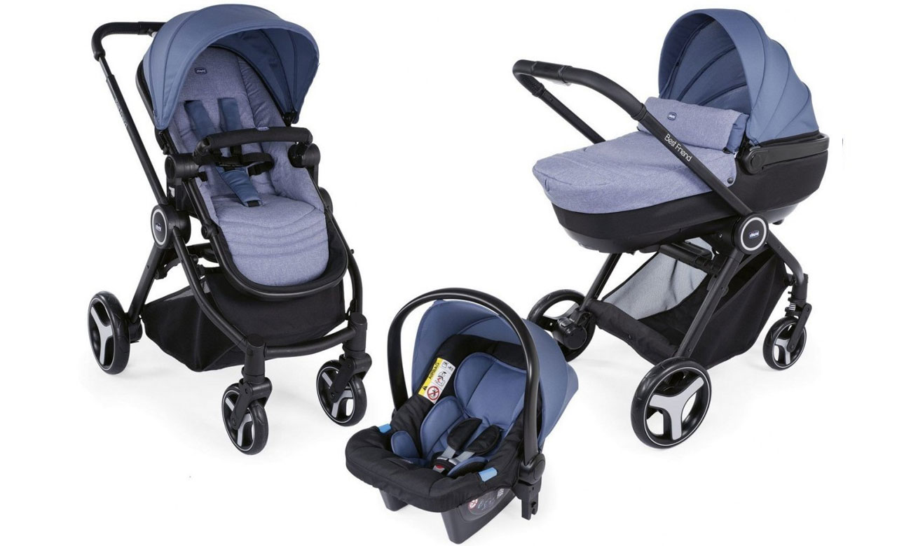 Chicco Trio Best Friend Comfort Avio
