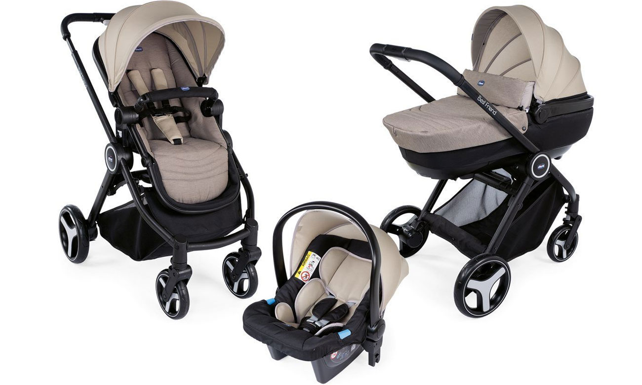 Chicco Trio Best Friend Comfort Beige