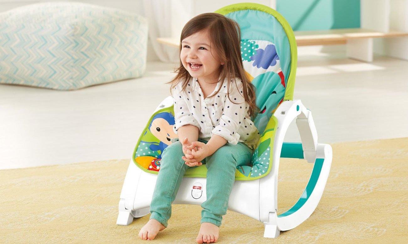 Wygodny fotelik dla dzieci Fisher Price CMR10