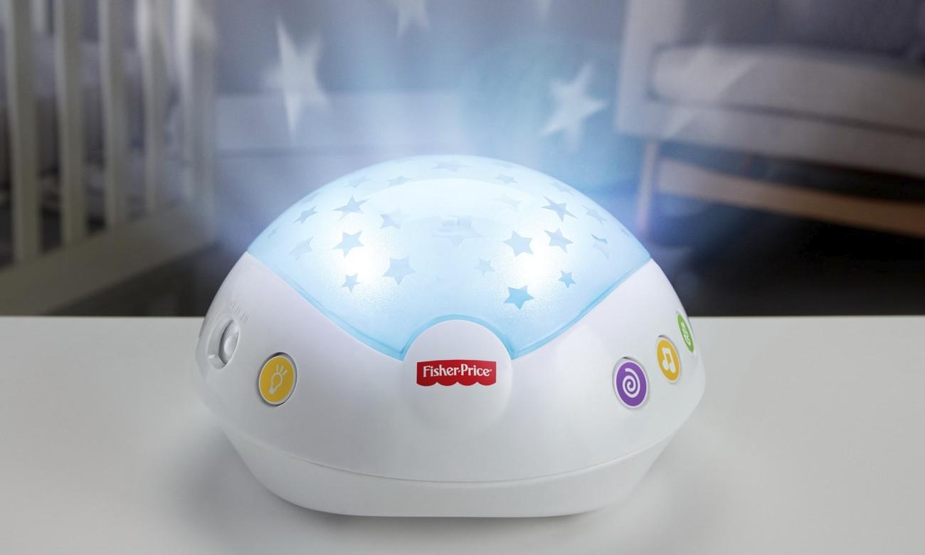 projektor uspokający do pokoju dziecięcego
