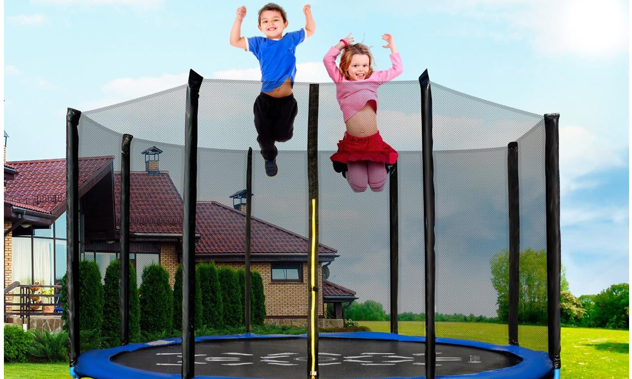 trampolina ogrodowa fitkraft