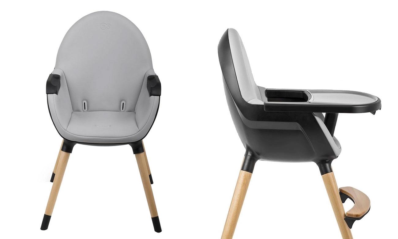 Krzesełko KinderKraft Fini Full Black