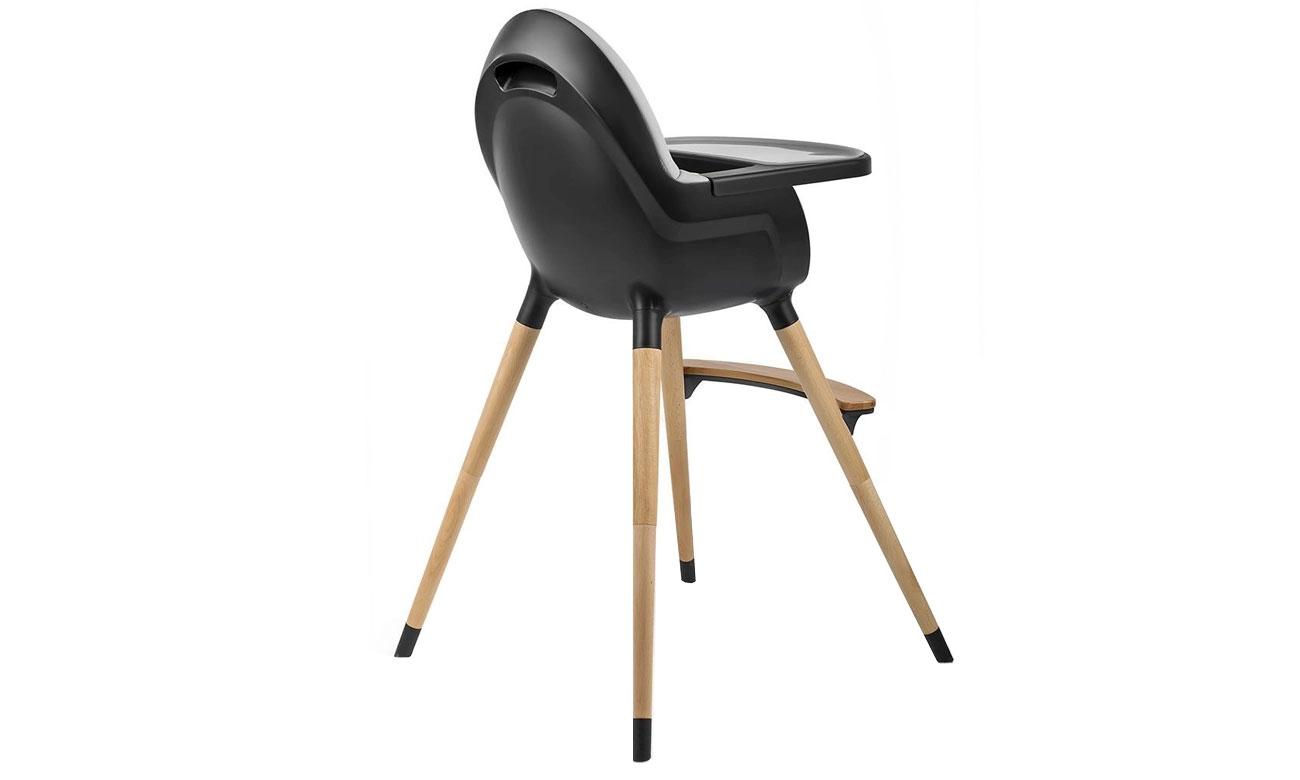 Krzesełko do karmienia KinderKraft Fini Full Black