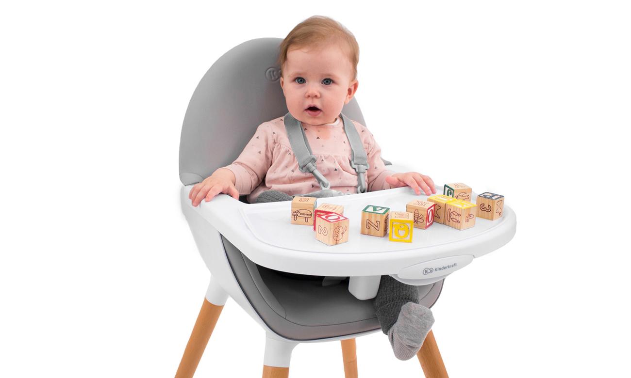 krzesełko do karmienia 2w1 fini kinderkraft