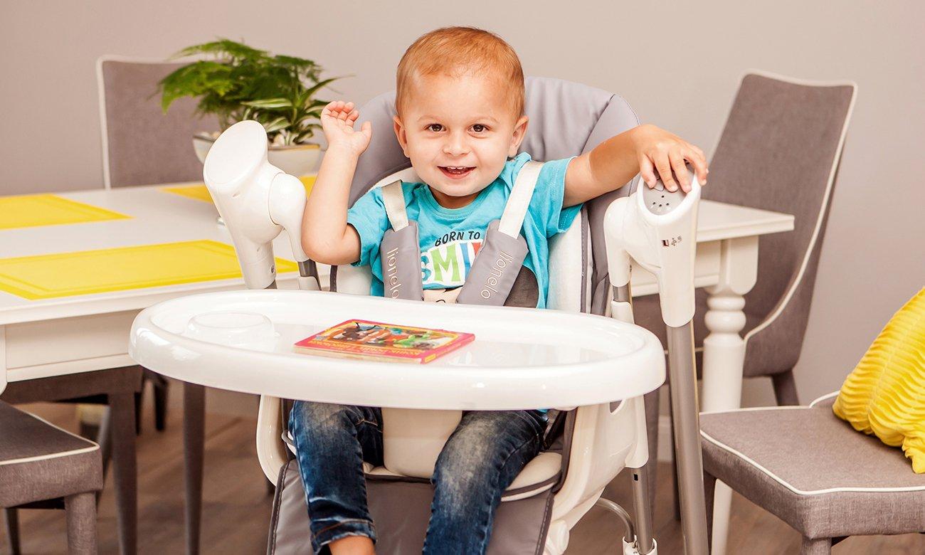 lionelo niles krzesełko i leżaczek 2w1