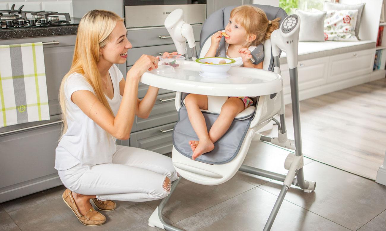 krzesełka do karmienia LIONELO niles