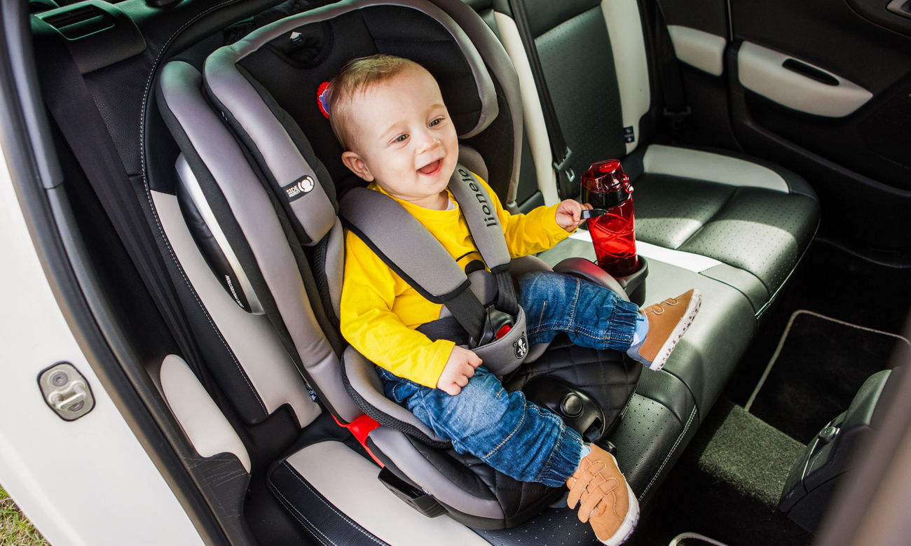 fotelik samochodowy ochrona boczna lionel