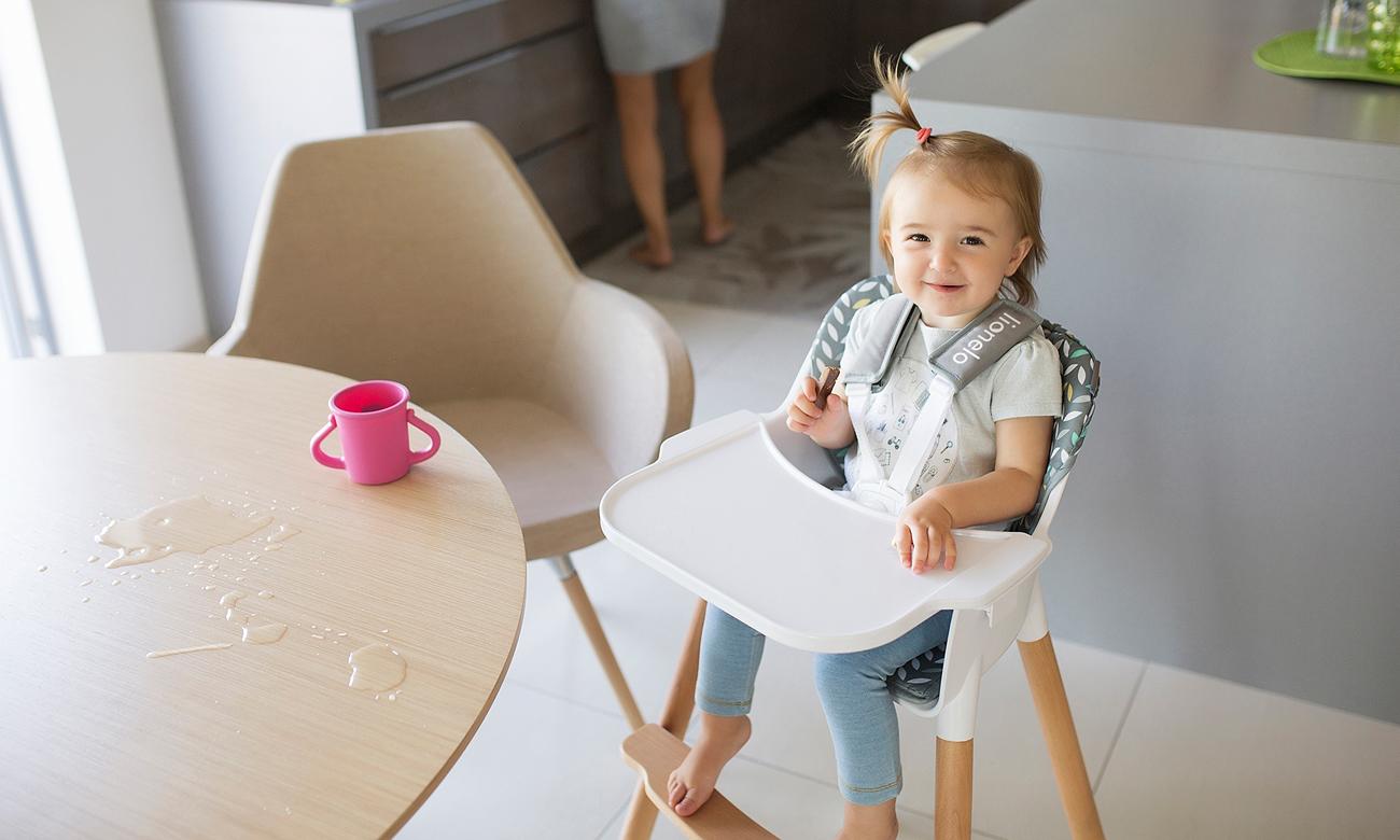 krzesło do karmienia lionelo KOEN
