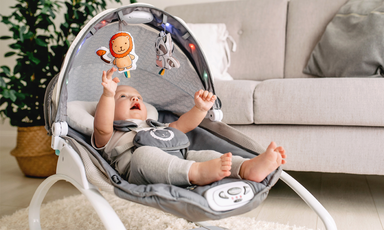 lionelo henk leżaczek dla dziecka od urodzenia
