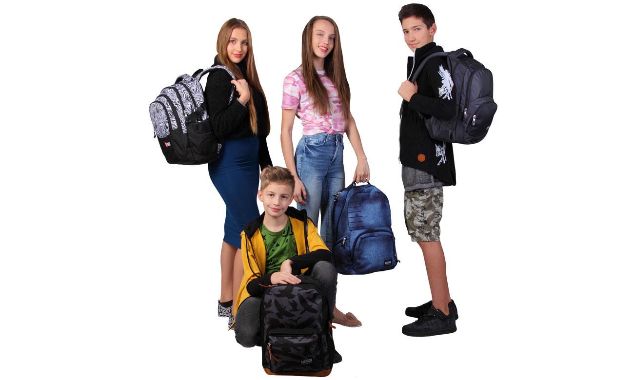 plecak szkolny majewskiego