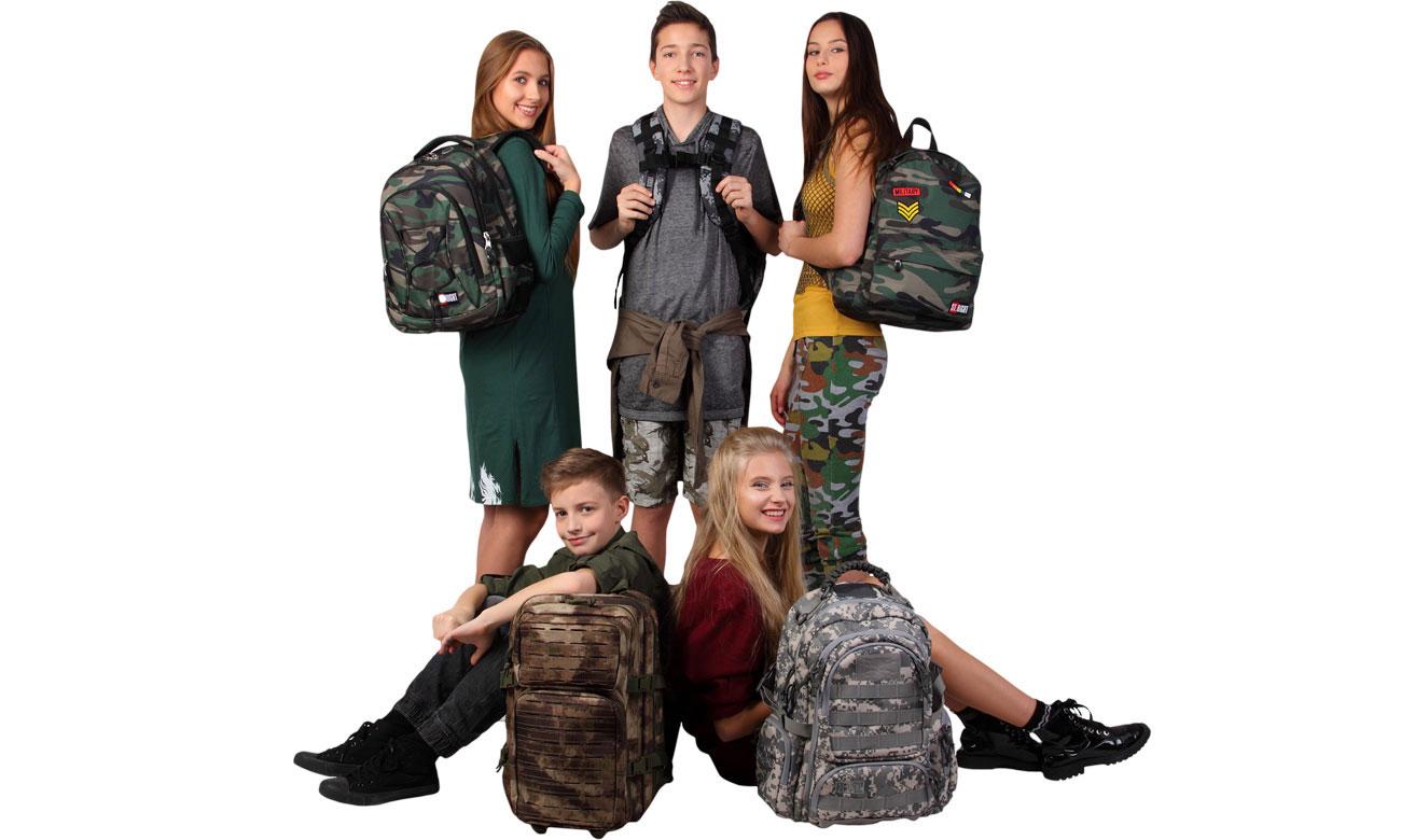 młodzieżowy plecak majewski