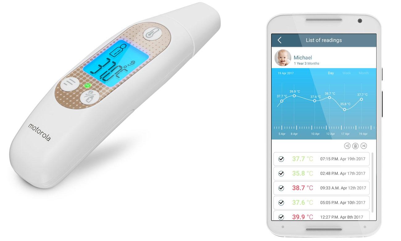 Termometr Motorola MBP69SN