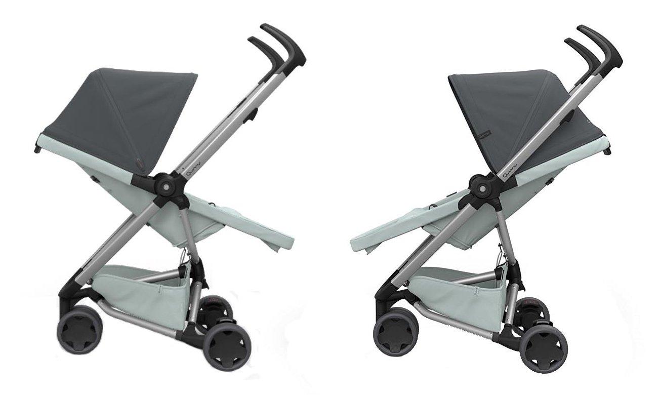 bezpieczny wózek spacerowy Zapp Flex Quinny