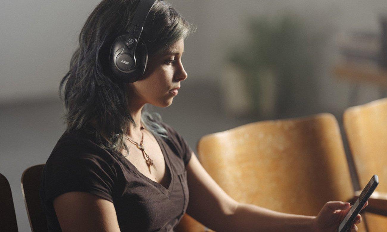 Wszecchstrone słuchawki zamknięte AKG K371