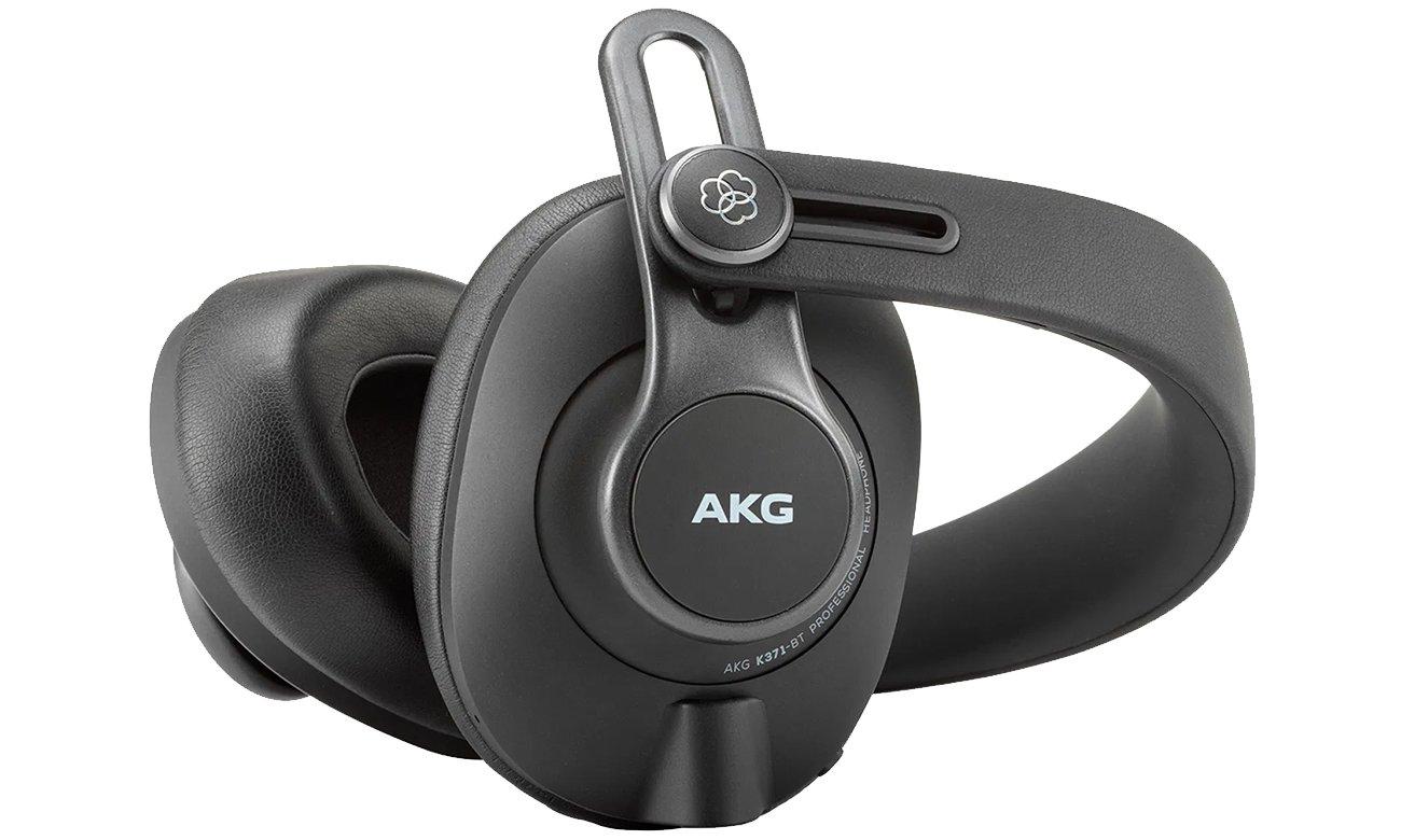 Słuchawki do miksowania i monitoringu dźwięku AKG K371BT