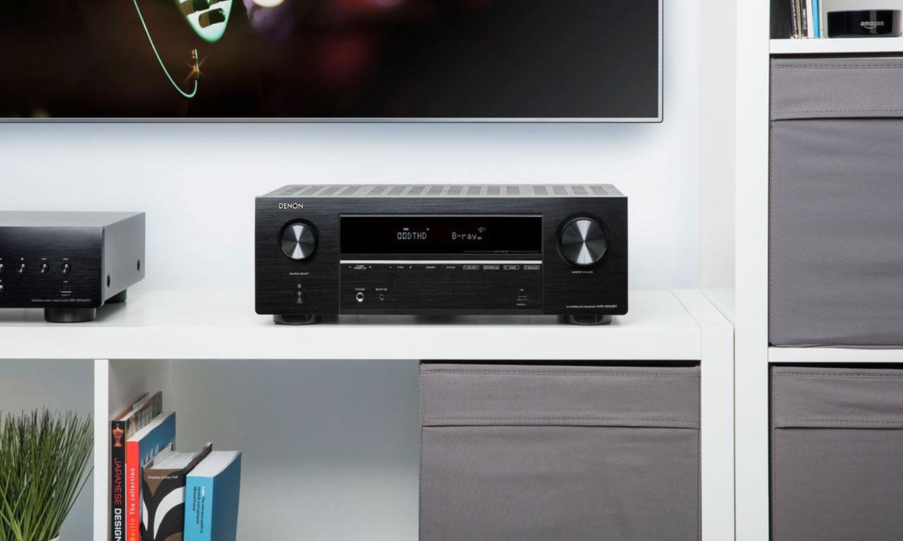 Zestaw kina domowego Cinematic AVR-X550BT Denon z Bluetooth