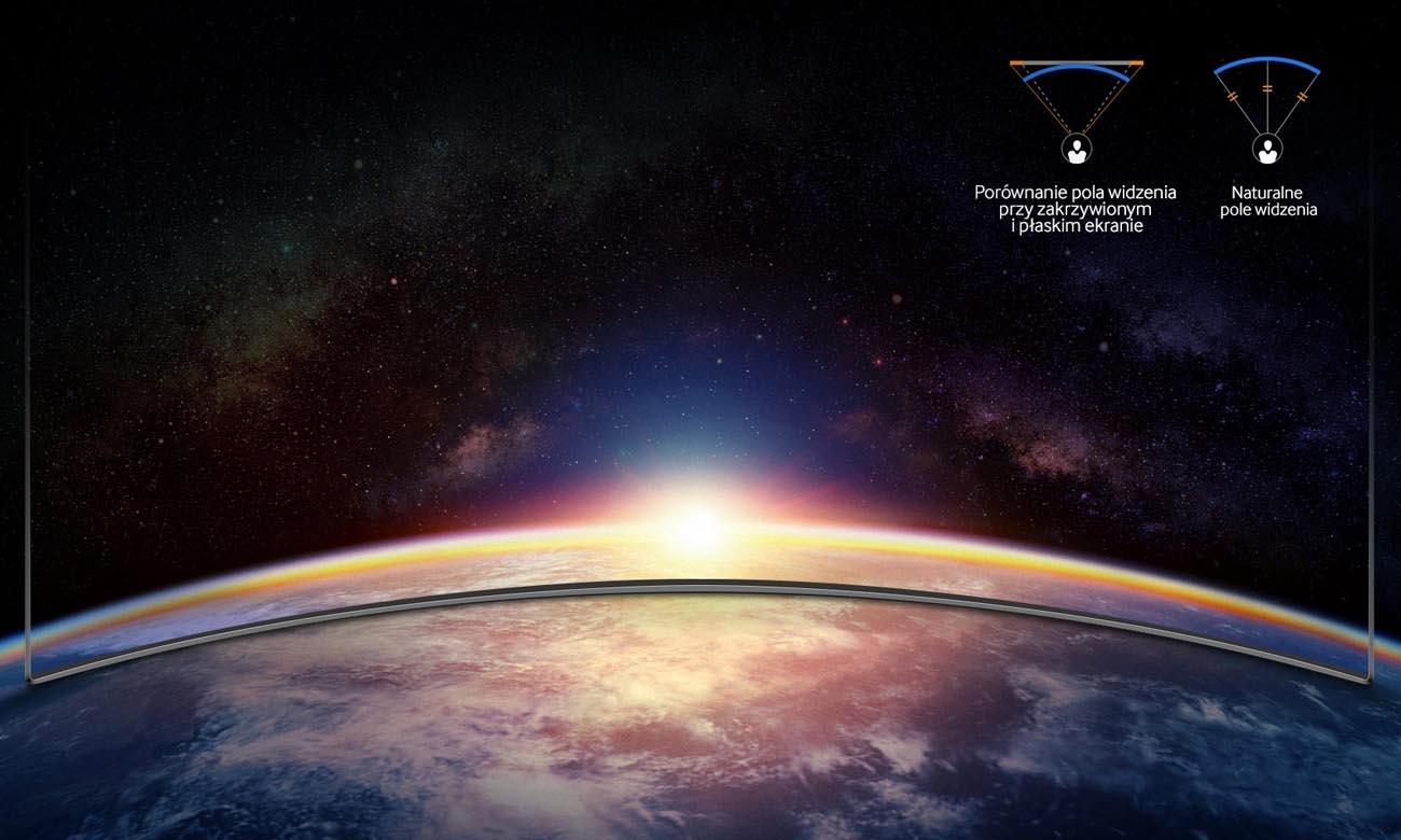 Zakrzywiony Telewizor Ultra HD Samsung Curved UE49NU7302