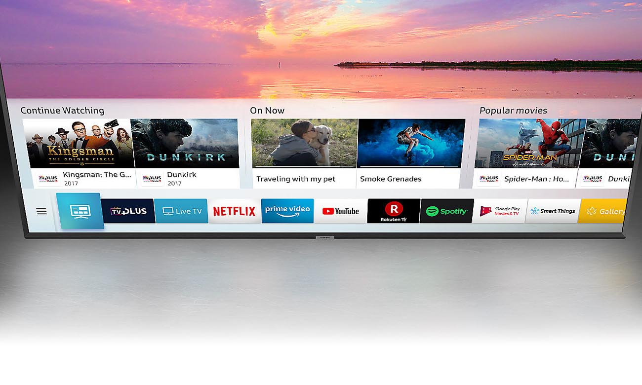 Smart TV Smart HUB Telewizor Ultra HD Samsung UE50NU7402U