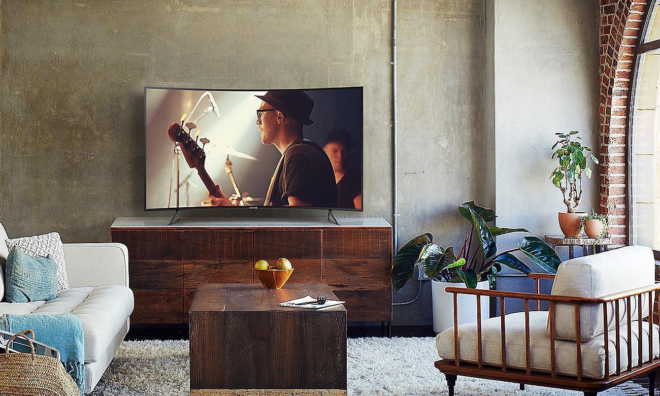 Stylowy Telewizor Ultra HD Samsung UE55NU7302