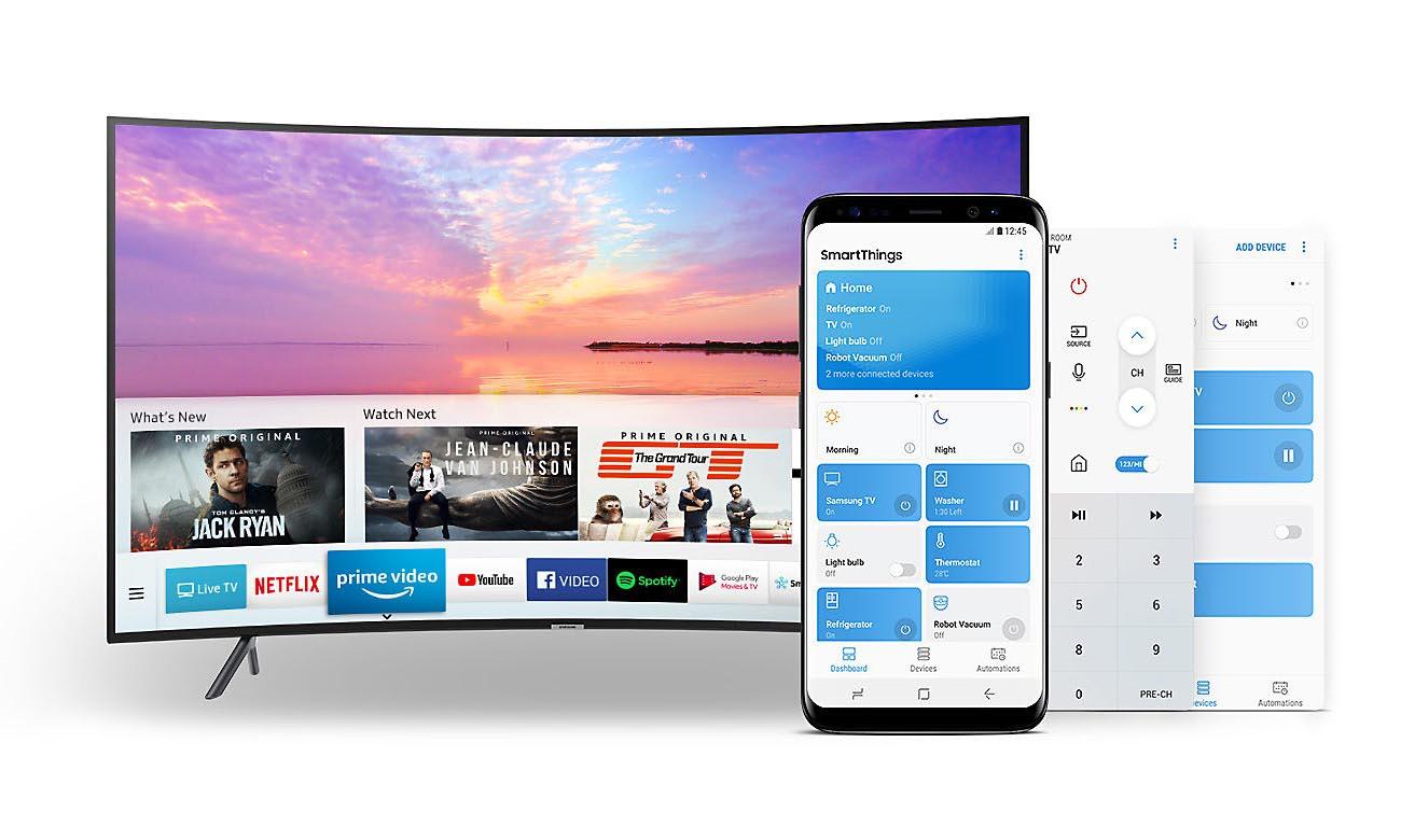Wifi Direct w Telewizorze Ultra HD Samsung UE55NU7302