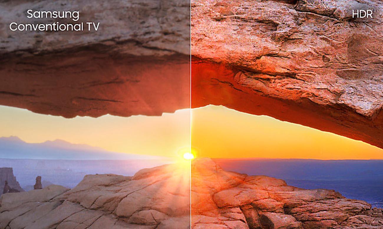 Technologia HDR Telewizor Ultra HD Samsung UE55NU7302