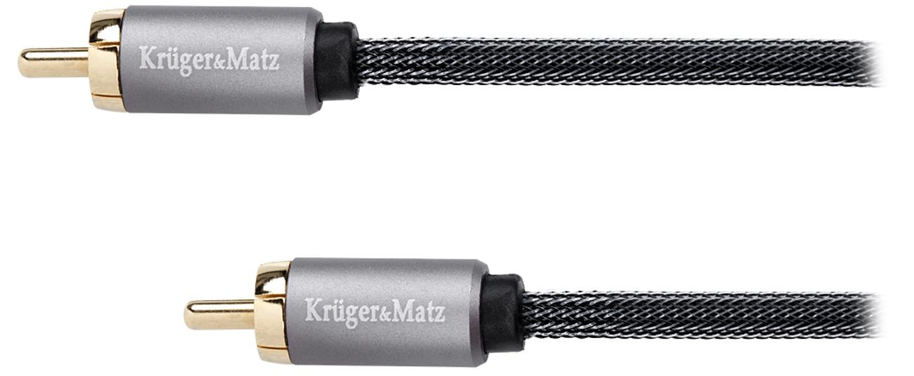 Kabel Kruger&Matz KM0302 1RCA-1RCA 1,8m