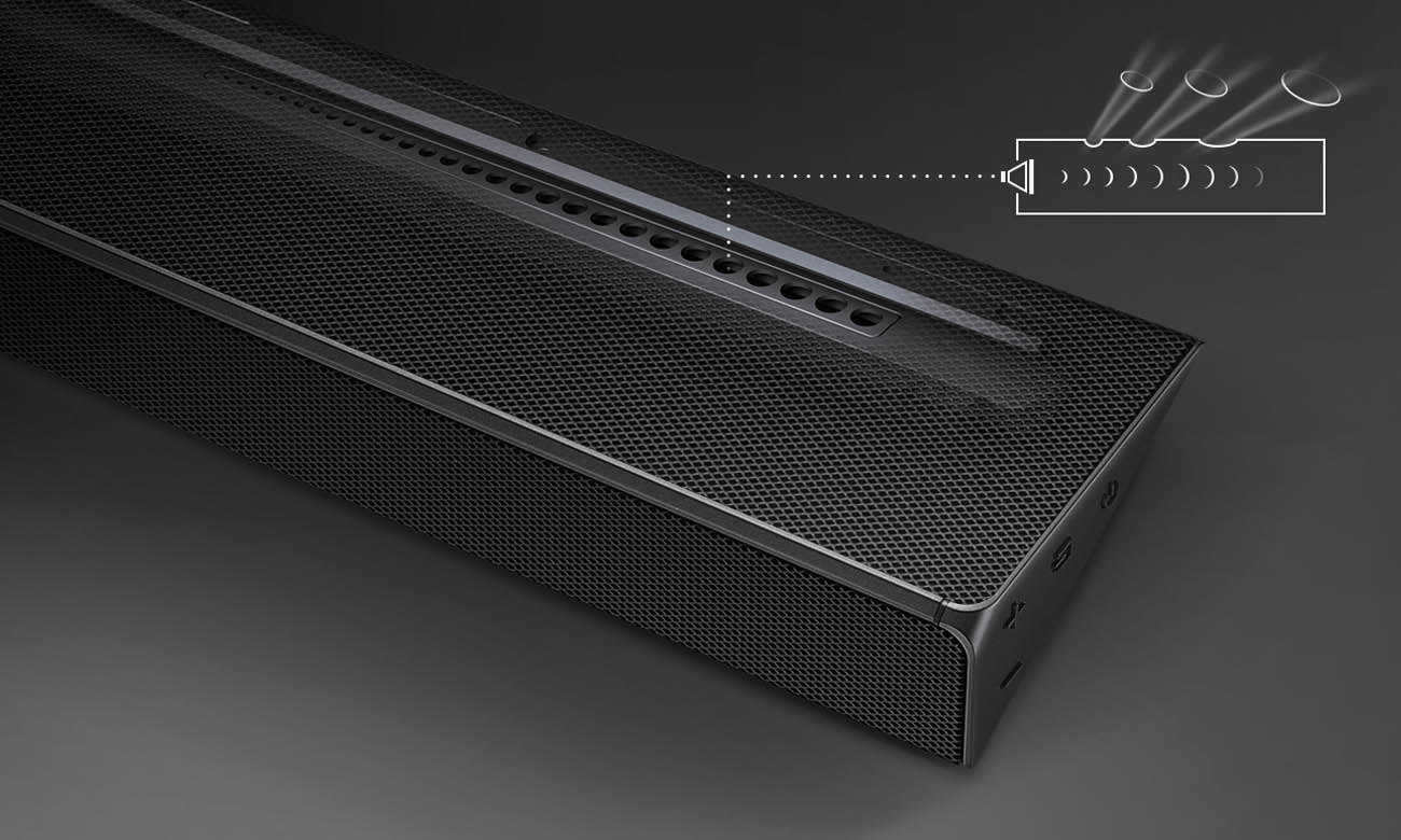 Soundbar 5.1 Samsung Q60R z techologią Samsung Acoustic Beam