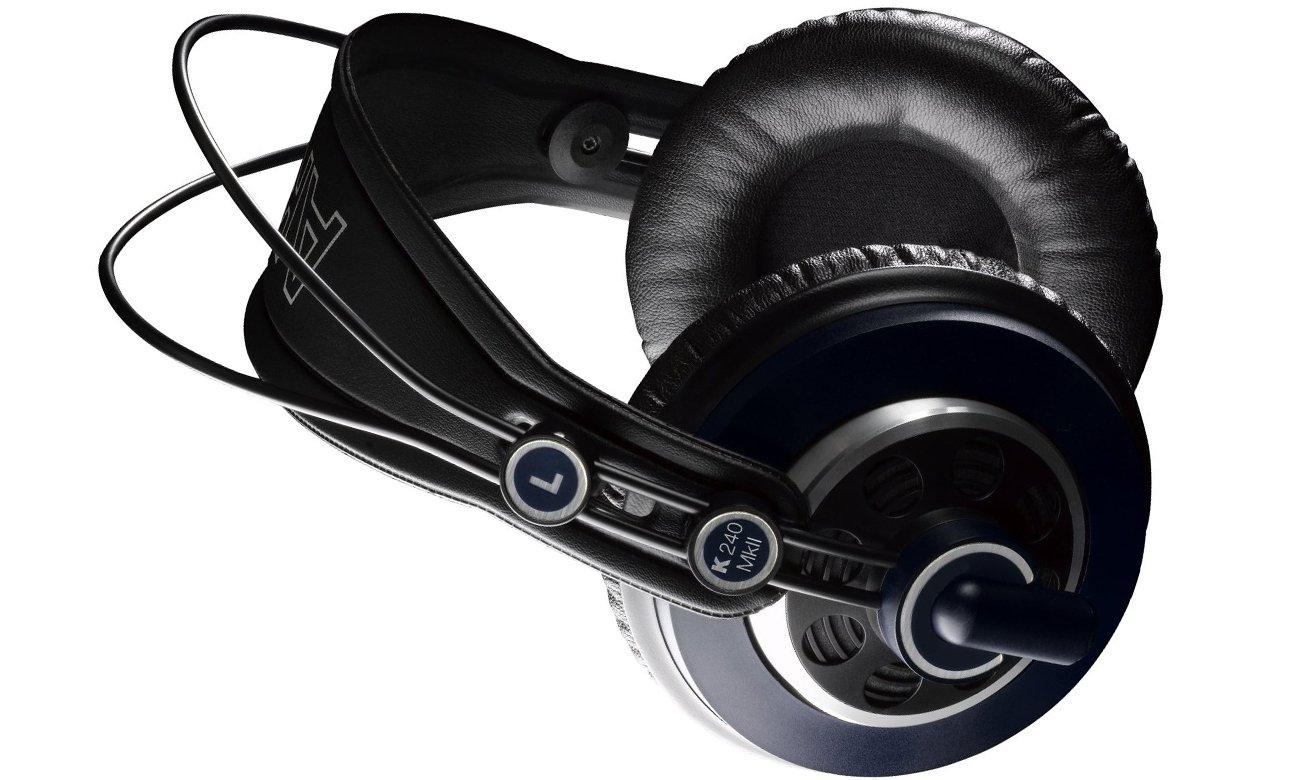 Wysoka jakość dźwięku dzięki słuchawką AKG K240 MKII