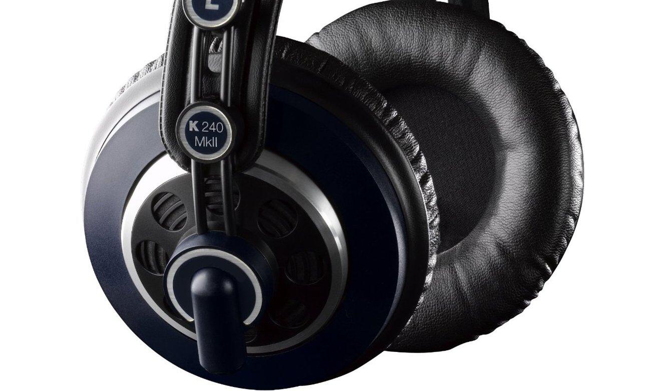 Wygodne słuchawki studyjne AKG K240 MKII