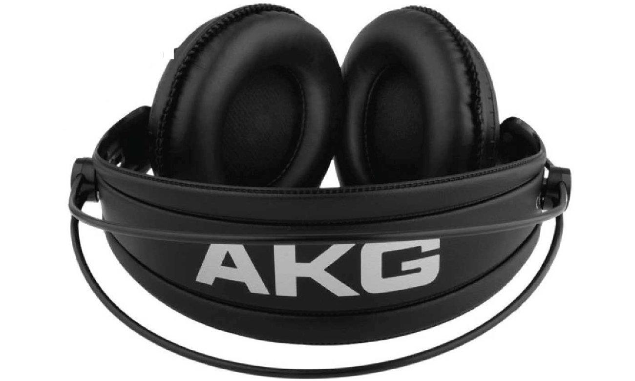 Półotwarta konstrukcja słuchawek AKG K240 MKII