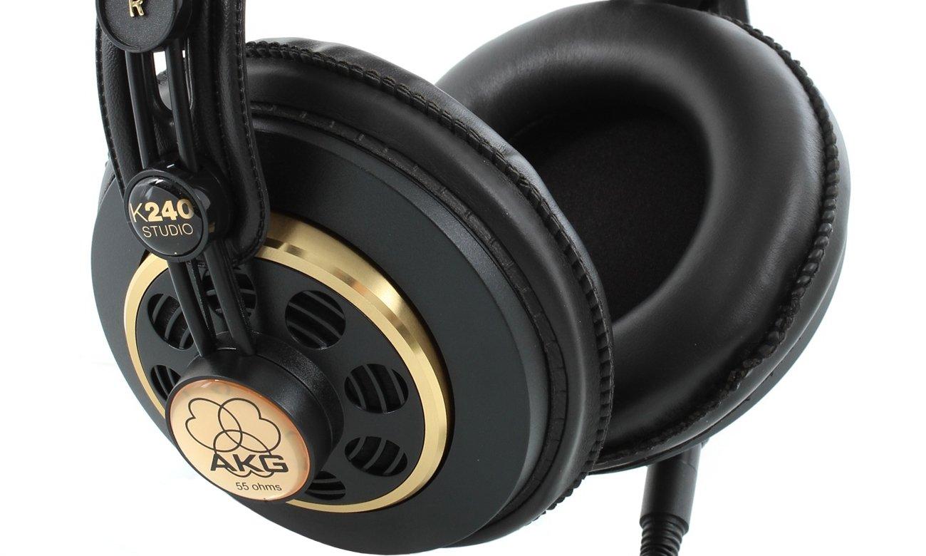 Wysoka jakość dźwięku dzięki słuchawką AKG K240 Studio