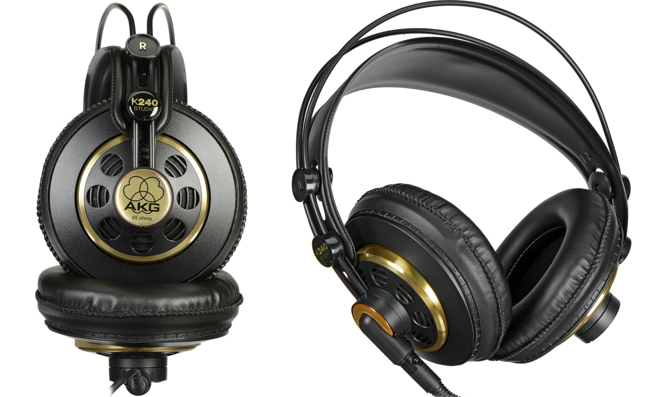 Wygodne słuchawki AKG K240 Studio