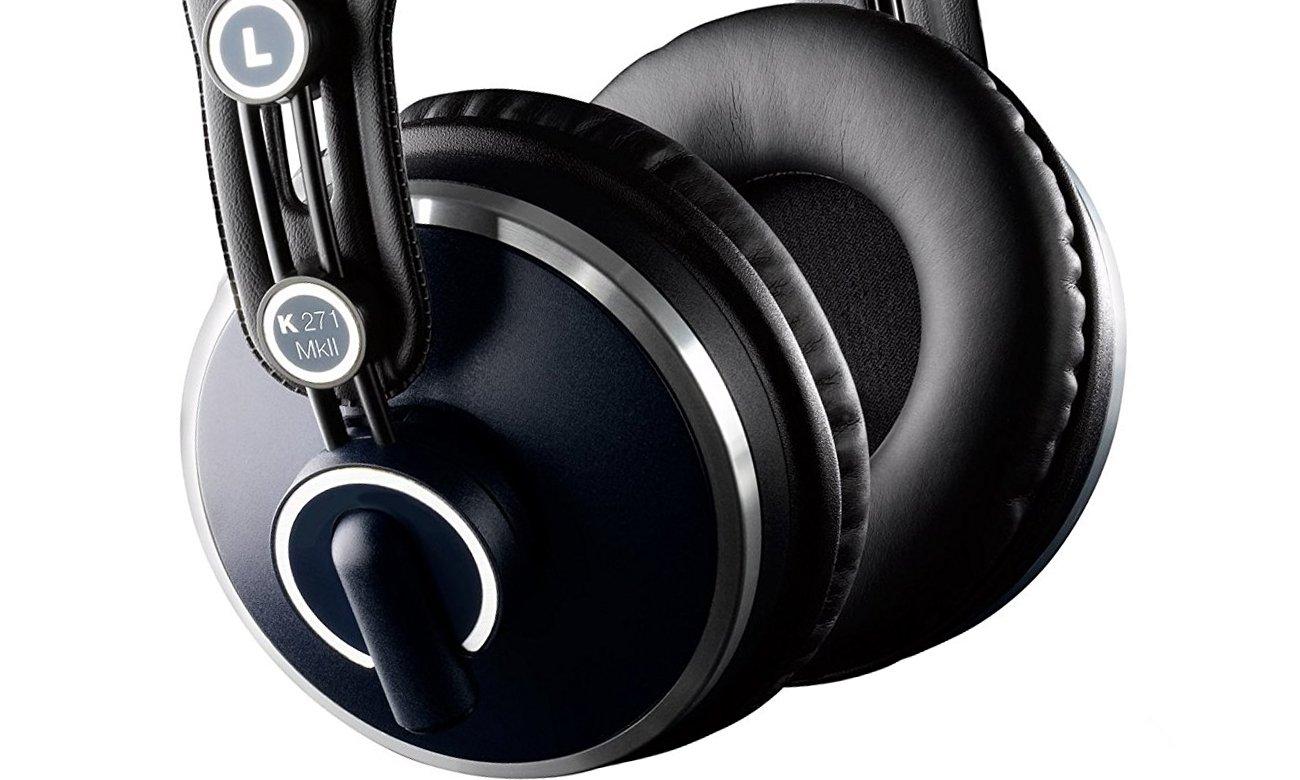 Wygodne słuchawki studyjne AKG K271 MKII
