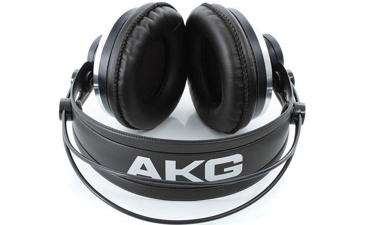 Zamknięta konstrukcja słuchawek AKG K271 MKII