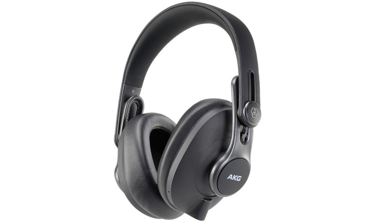 Profesjonalne słuchawki studyjne AKG K371BT