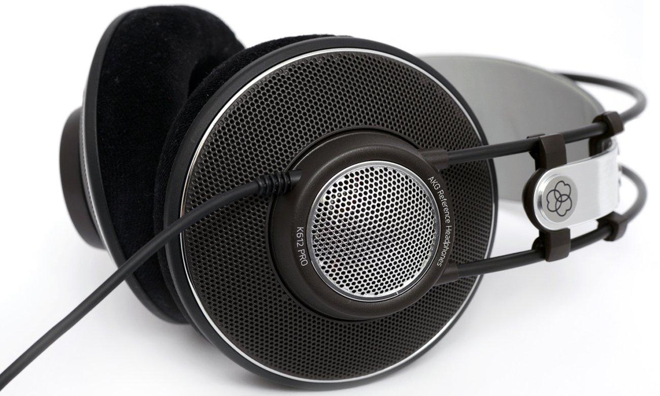 Wygodne słuchawki audiofilskie AKG K612 PRO