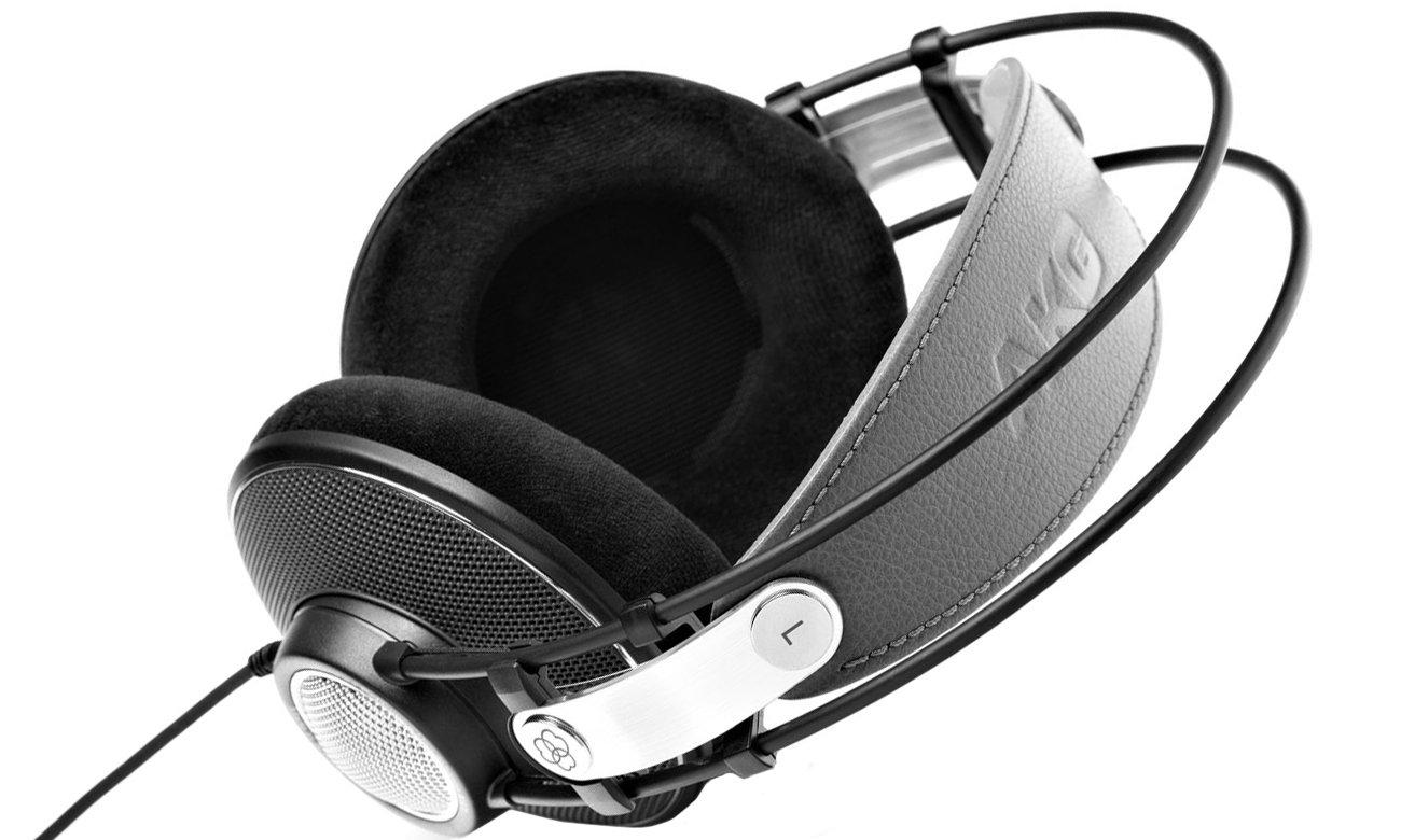 Otwarta konstrukcja słuchawek AKG K612 PRO