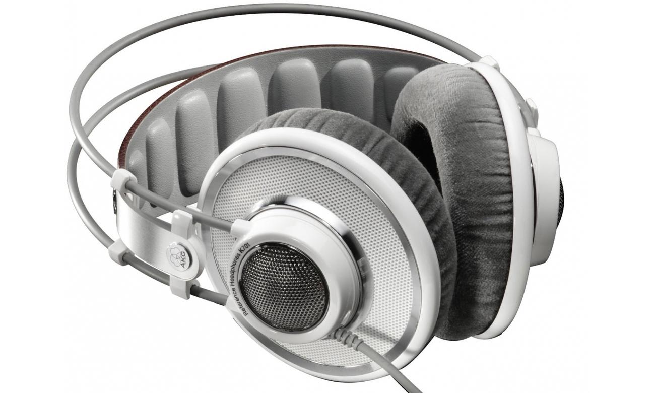 Wygodne słuchawki audiofilskie AKG K701