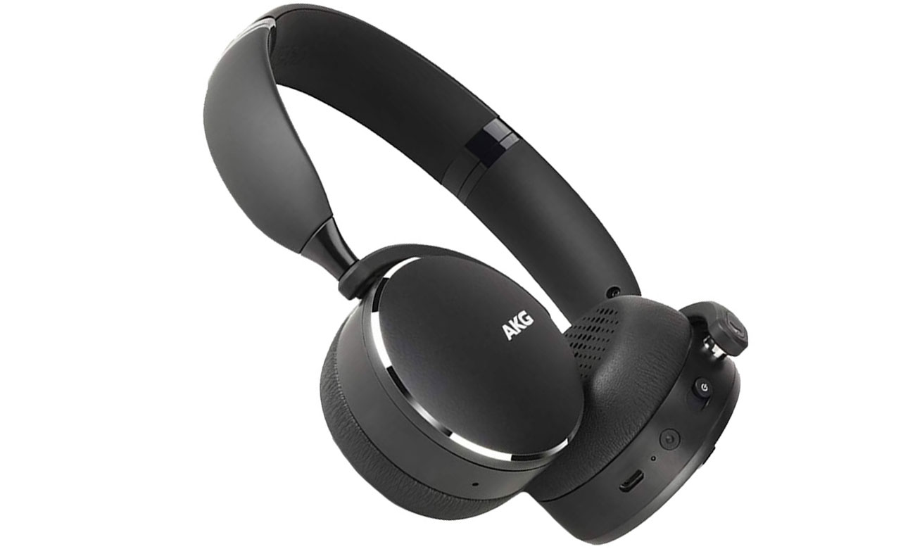 Słuchawki bezprzewodowe AKG Y500WBK czarne