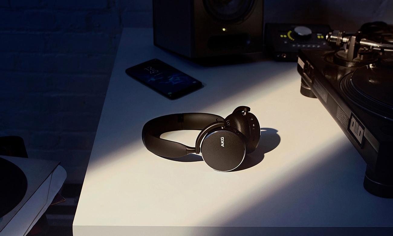 DBrzmienie słuchawek bezprzewodowych AKG Y500