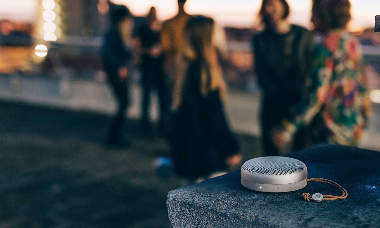 głośnik bezprzewodowy bluetooth Bang & Olufsen Beoplay A1 złoty