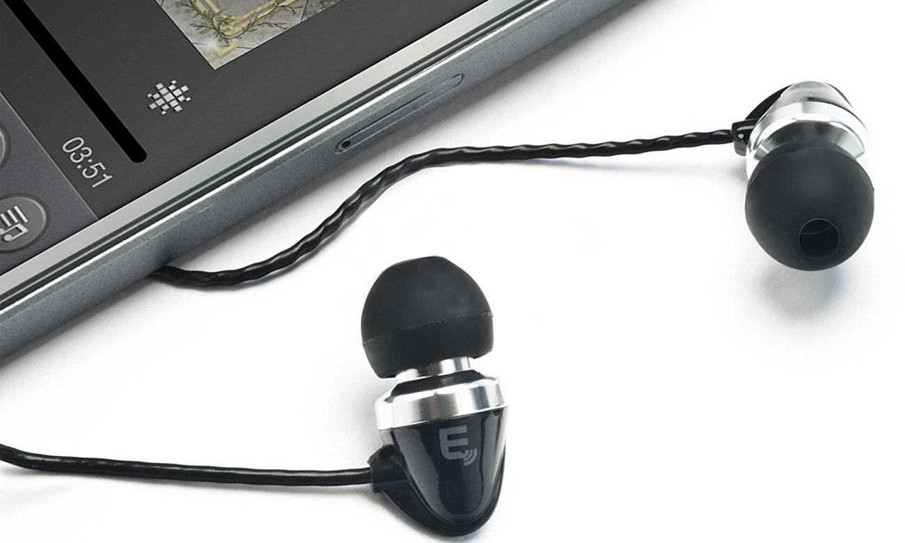 Słucawki douszne czarne Brainwavz M1