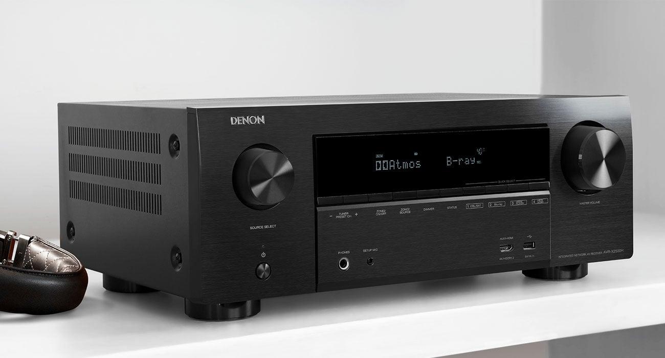 Amplituner sterowany przez Smart TV Denon AVR-X2500H