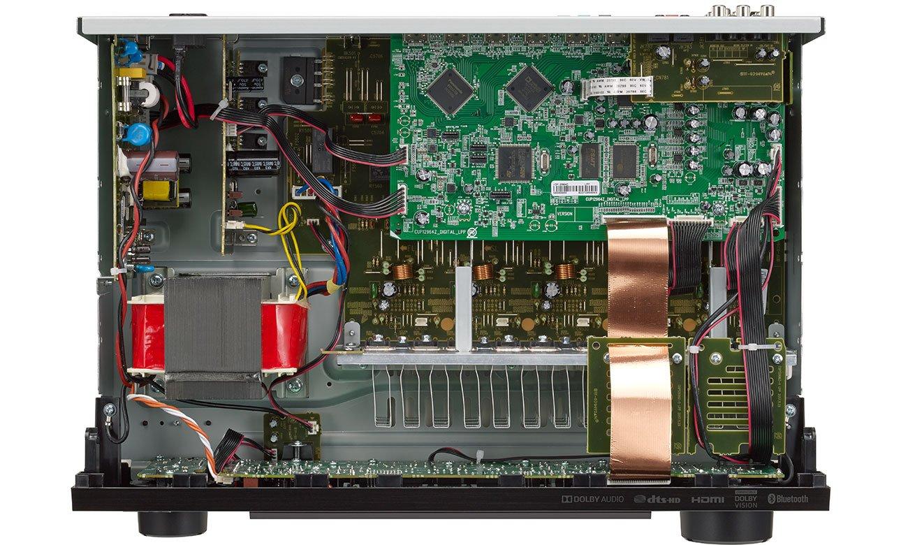 Budowa amlplitunera Denon AVR-X550BT