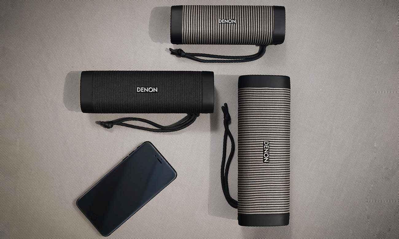 Niewielki głośniczek BT Denon Envaya Pocket Black-Grey DSB50BTBGEM