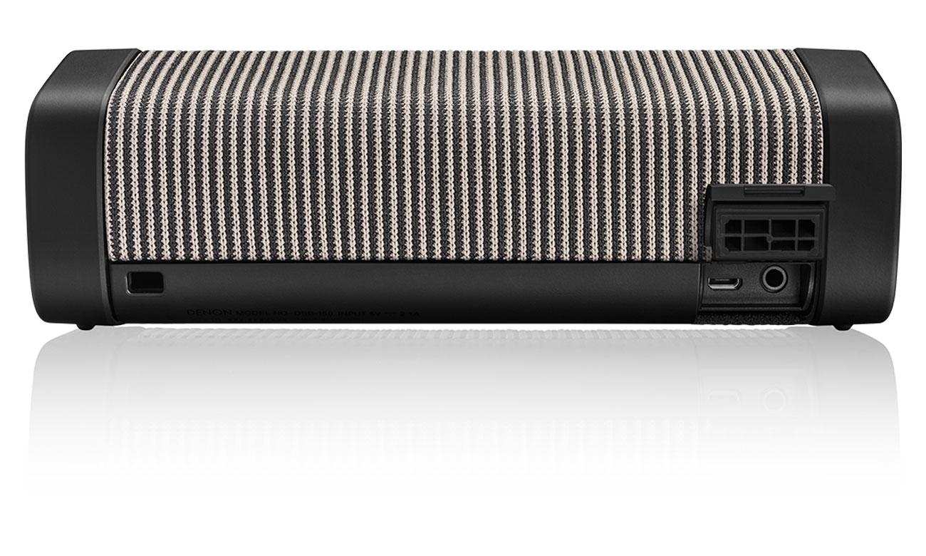Głośnik przenośny o dużej mocy Denon Envaya Pocket Black DSB50BTBKEM