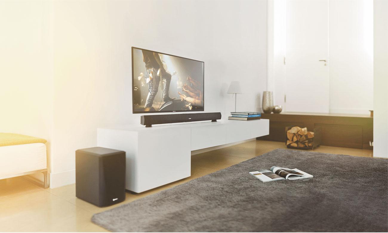 Wsparcie dla streamingu z soundbarem Denon Heos Home Cinema HEOSHCBKE2