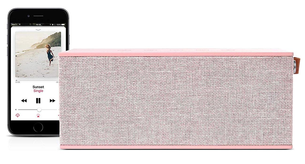 Głośnik bezprzewodowy Fresh N Rebel Rockbox Brick XL różowy