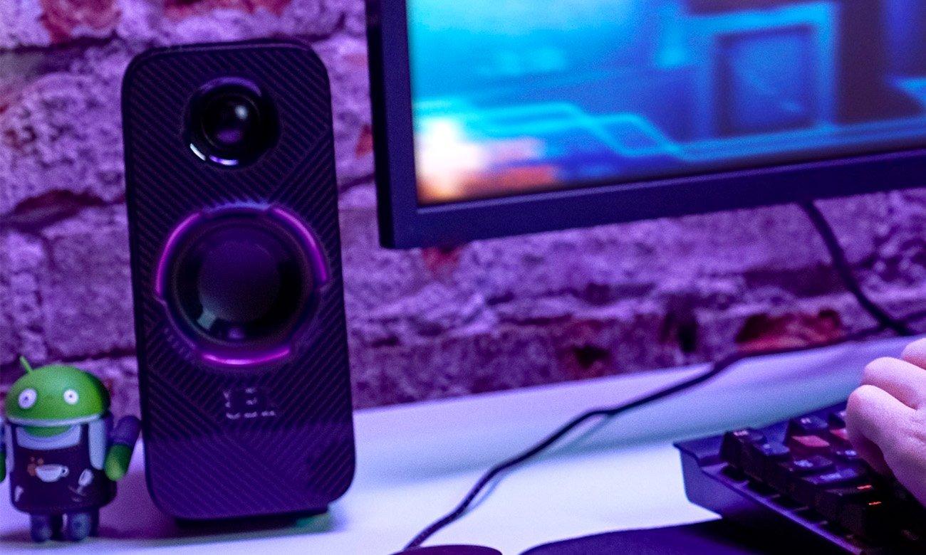 Głośniki gamingowe JBL Quantum DUO z QuantumSOUND Signature